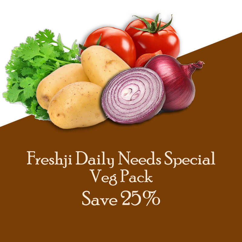 Freshji Daily Needs Special Veg Pack