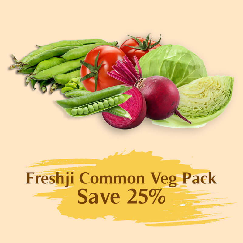 Freshji Common Veg Pack