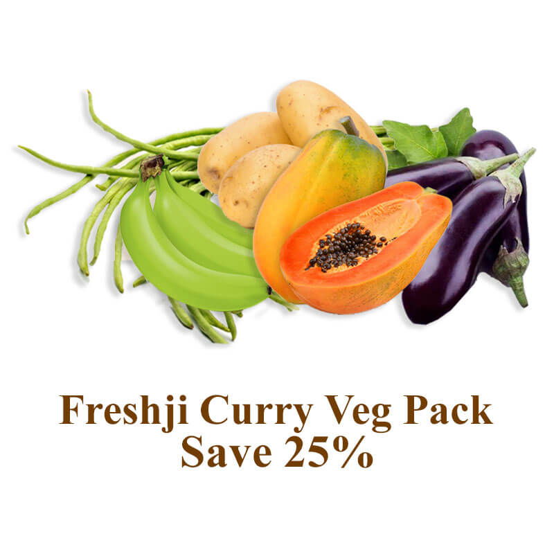 Freshji Curry Veg Pack
