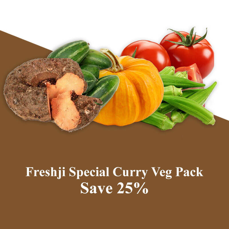 Freshji Special Curry Veg Pack