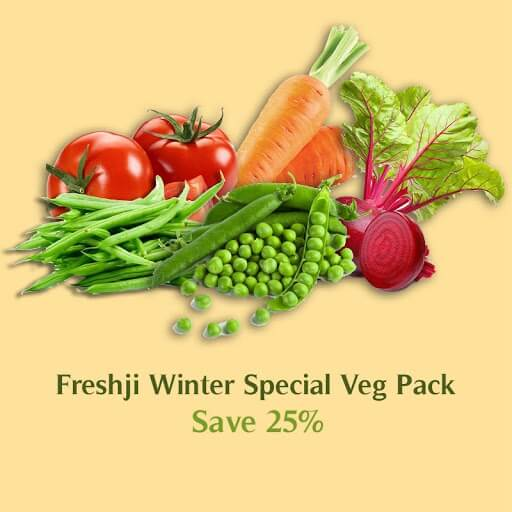 Freshji Winter Special Veg Pack