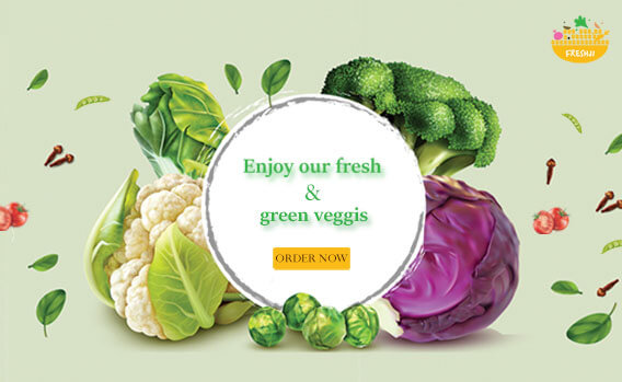 Fresh Green Veggis Online Order Now Freshji