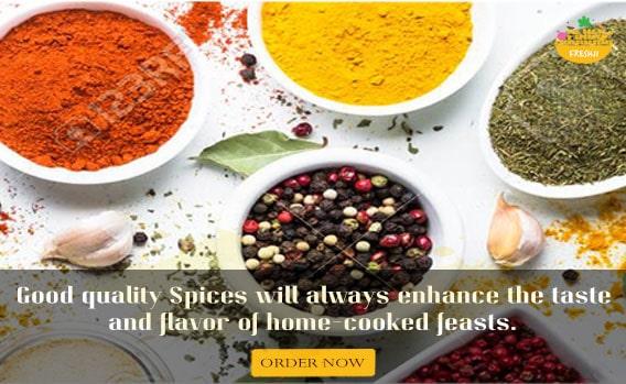 Spices Order now Freshji