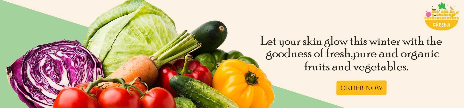 Freshji Pure and organic fruits and vegetables online