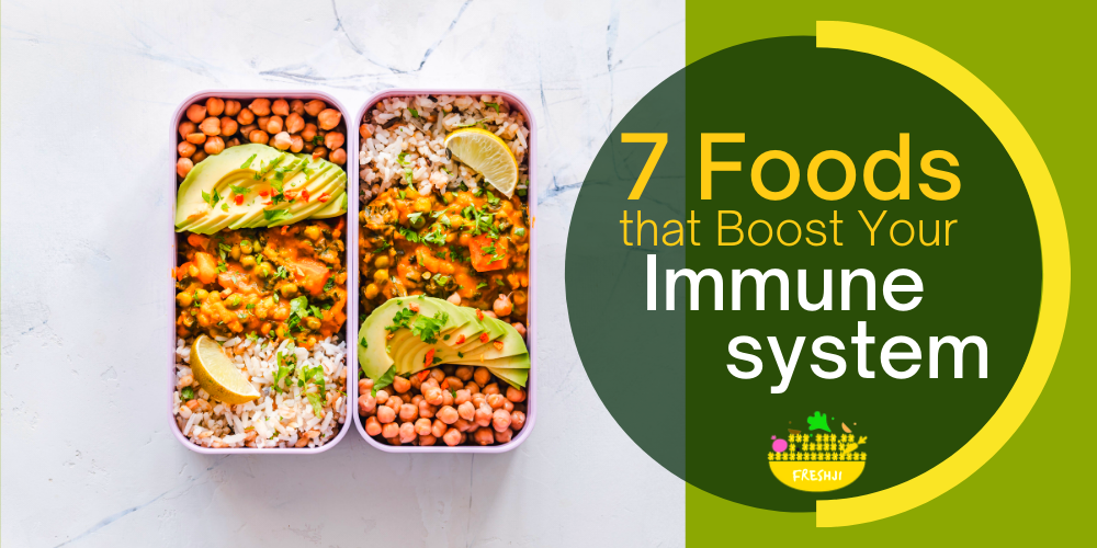 7 Foods that Boost the Immune System
